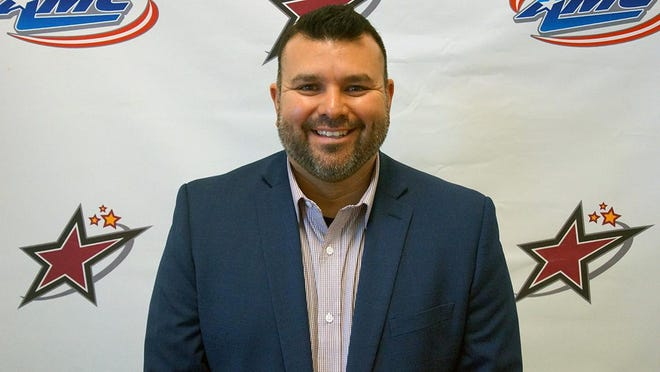 Stephens College athletic director Miguel Paredes