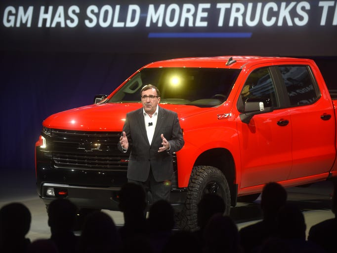 New Chevy Trucks >> 2019 Chevrolet Silverado
