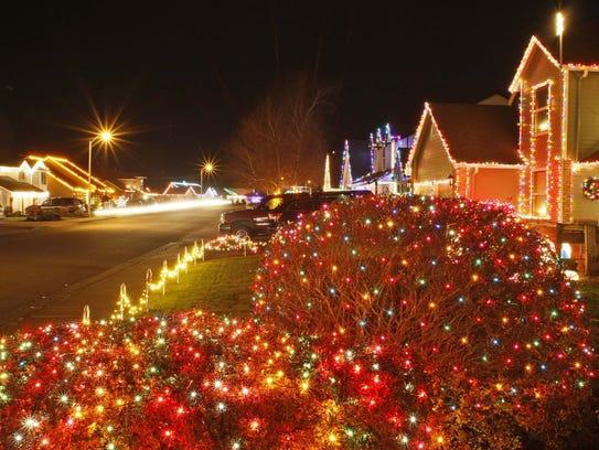 The Keizer Miracle of Christmas Lights Display runs