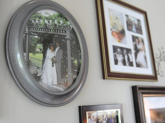 A photo from Marilyn and John Schouten's wedding in