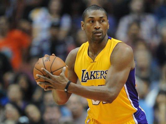 USP NBA: PRESEASON-GOLDEN STATE WARRIORS AT LOS AN S BKN USA CA
