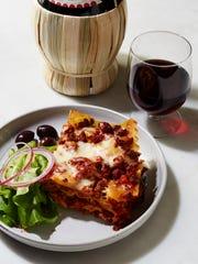 "Sausage lasagna from ""Martha Stewart's Slow Cooker"""