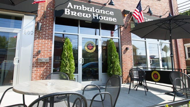 Exterior view of the Ambulance Brew House in Nanuet on Sunday, Sept. 7, 2014.