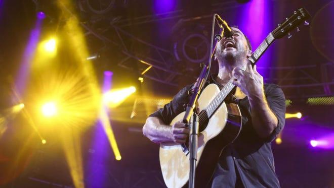 Dave Matthews performs Friday at Klipsch Music Center.