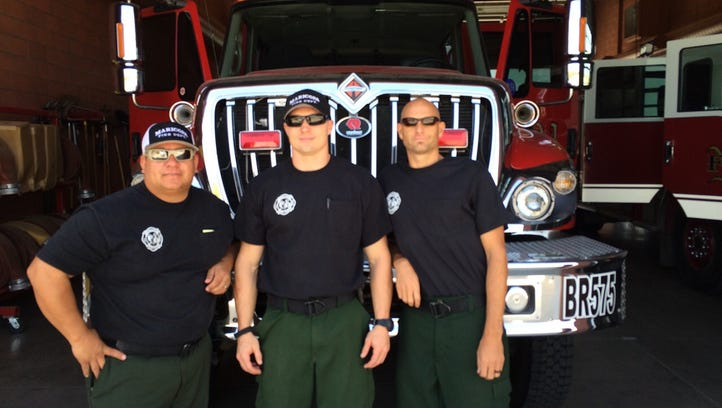 Arizona departments send crews to assist firefighters in California