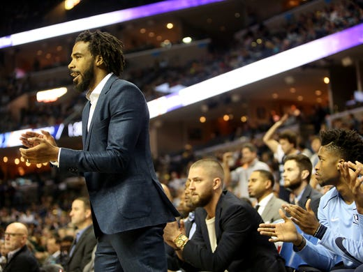 January 5, 2018 - Memphis Grizzlies guard Mike Conley