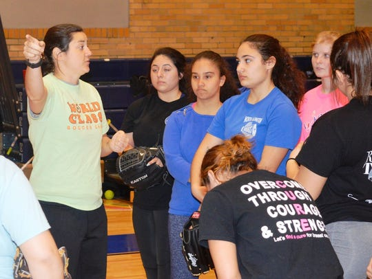 North Arlington softball has a new coach this season