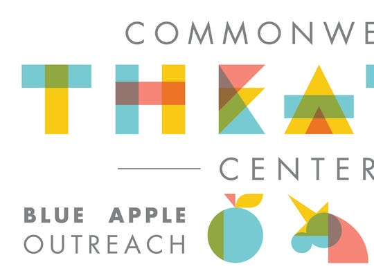 New logo for the Commonwealth Theatre Center, formed by the merger of Walden Theatre and Blue Apple Players.