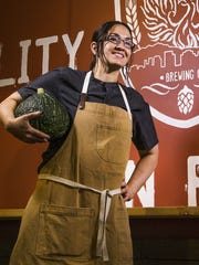 Helio Basin Brewing Co.'s head chef Tamara Stanger