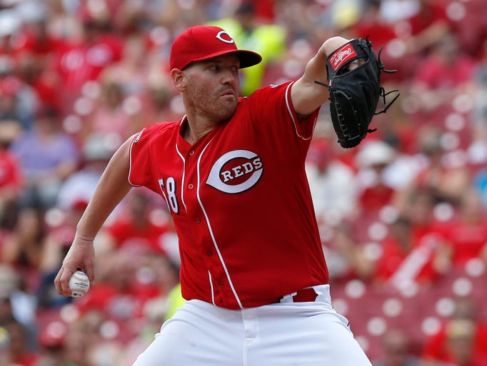 Jan. 19: The Reds traded RHP Dan Straily to the Marlins