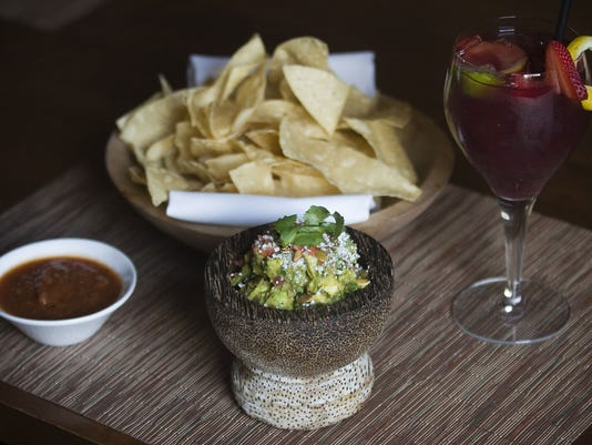 Tableside Guacamole at The Mission