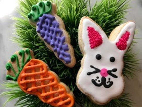 DiLena's Dolcini Easter cookies.