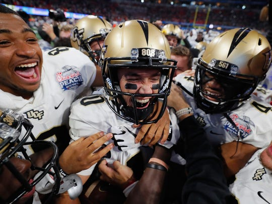 Quarterback McKenzie Milton and UCF are coming off a stellar season.