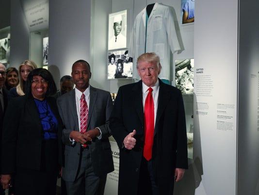 Donald Trump,Ben Carson,Candy Carson