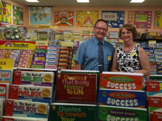 Monti and Carol Miller have sold their business The Learning Post, a student and teacher supply company in Urbandale, to a former executive at Kum & Go.