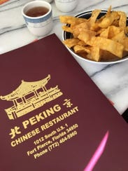 At Peking Chinese Restaurant customers are served hot
