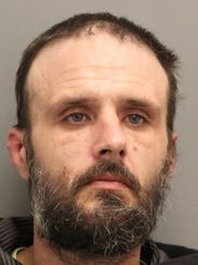 Eric Huffstutler of Frederica was arrested in a traffic