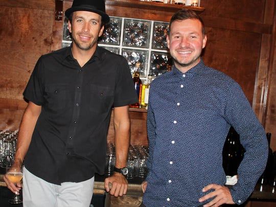 Justin Owen, left, and Ryan Gold, owners of Royce Wine Bar on Ridge Street, also own Old Granite Street Eatery next door, Imperial Bar & Lounge in downtown Reno, and Lincoln Lounge on East Fourth Street.