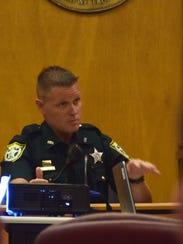 Santa Rosa County Sheriff's Office deputy Brian Cribb