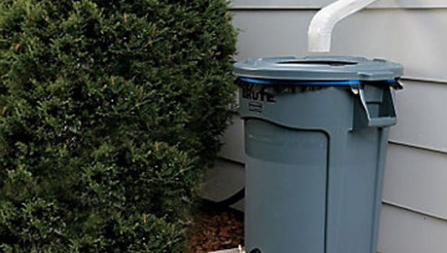 Rain barrels can be easily created with a simple kit.