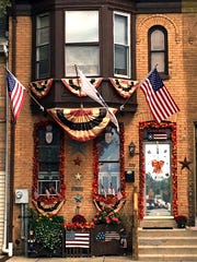 The O'Connor's house is decked out in fall colors –