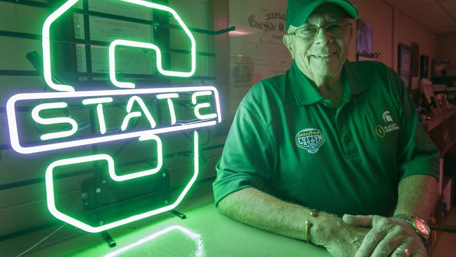 Bill Scharffe, an MSU fan from Saginaw, graduated from the school three times: 1965, 1971 and 1977. He thinks the Spartans have a shot.