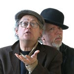 Mikhail Horowitz and Gilles Malkine will perform Saturday in Corning.