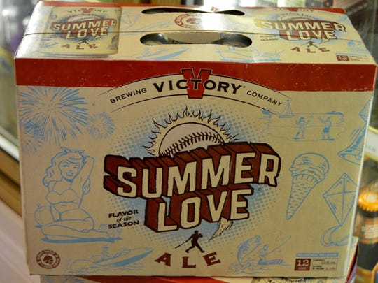Summer Love, a refreshing blonde ale, is available