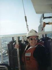 In addition to being a captain in the Air Force, Linda Roehrborn is an oceanographer.