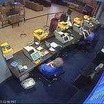 A security photo of a man believed to have used counterfeit Federal Reserve notes at the Grand Sierra Resort's Sports Book on Jan. 7, 2016.