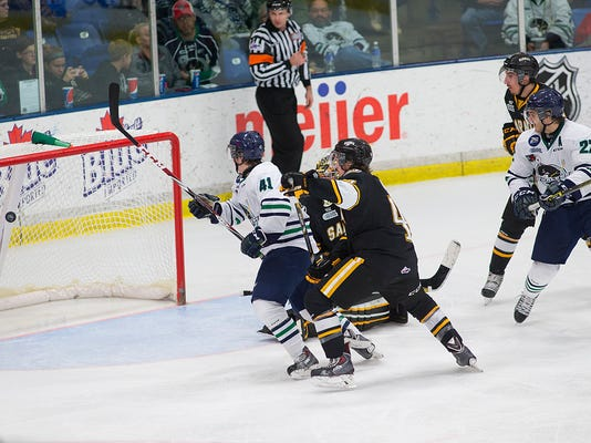 OHL Sarnia Sting vs Plymouth Whalers