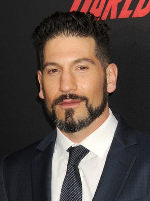 "Jon Bernthal attends the premiere for season two of ""Daredevil"" at AMC Loews Lincoln Square 13 Theater in New York on March 10, 2016. Bernthal's ""Daredevil"" character, the Punisher, is getting his own Netflix series."