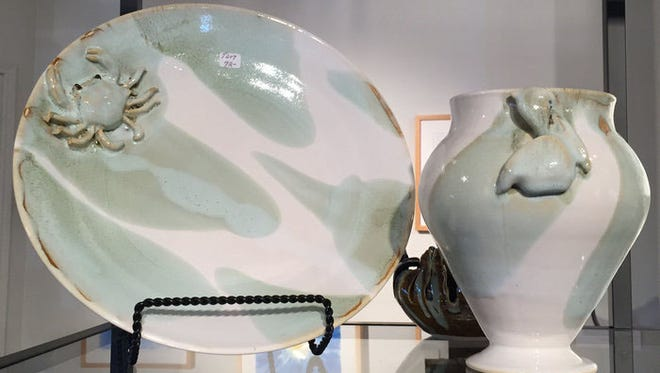 Ceramics by Amy Lancaster are among the artwork available for sale in the Studio C Gallery at the Art Center of Corpus Christi, 100 N. Shoreline Blvd. An artists' reception will take place from 5-7 p.m., Thursday, May 11.