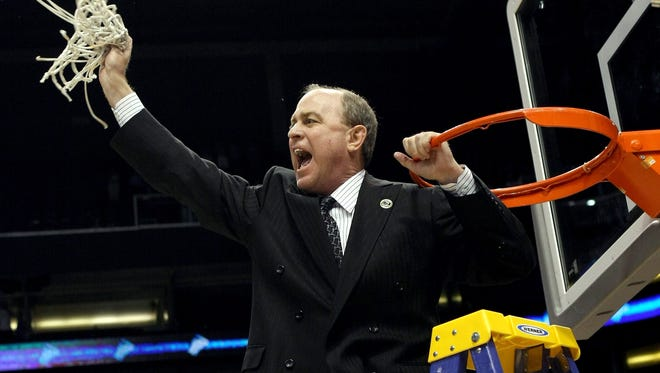 Ben Howland, the new Mississippi State men's basketball coach, will throw out the ceremonial first pitch at Tuesday night's Mississippi State-USM baseball game at Trustmark Park in Pearl.