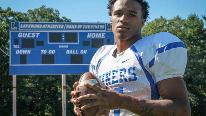 Amir Tyler will be one of the players honored at the Jersey Shore Sports Awards Banquet on June 13.