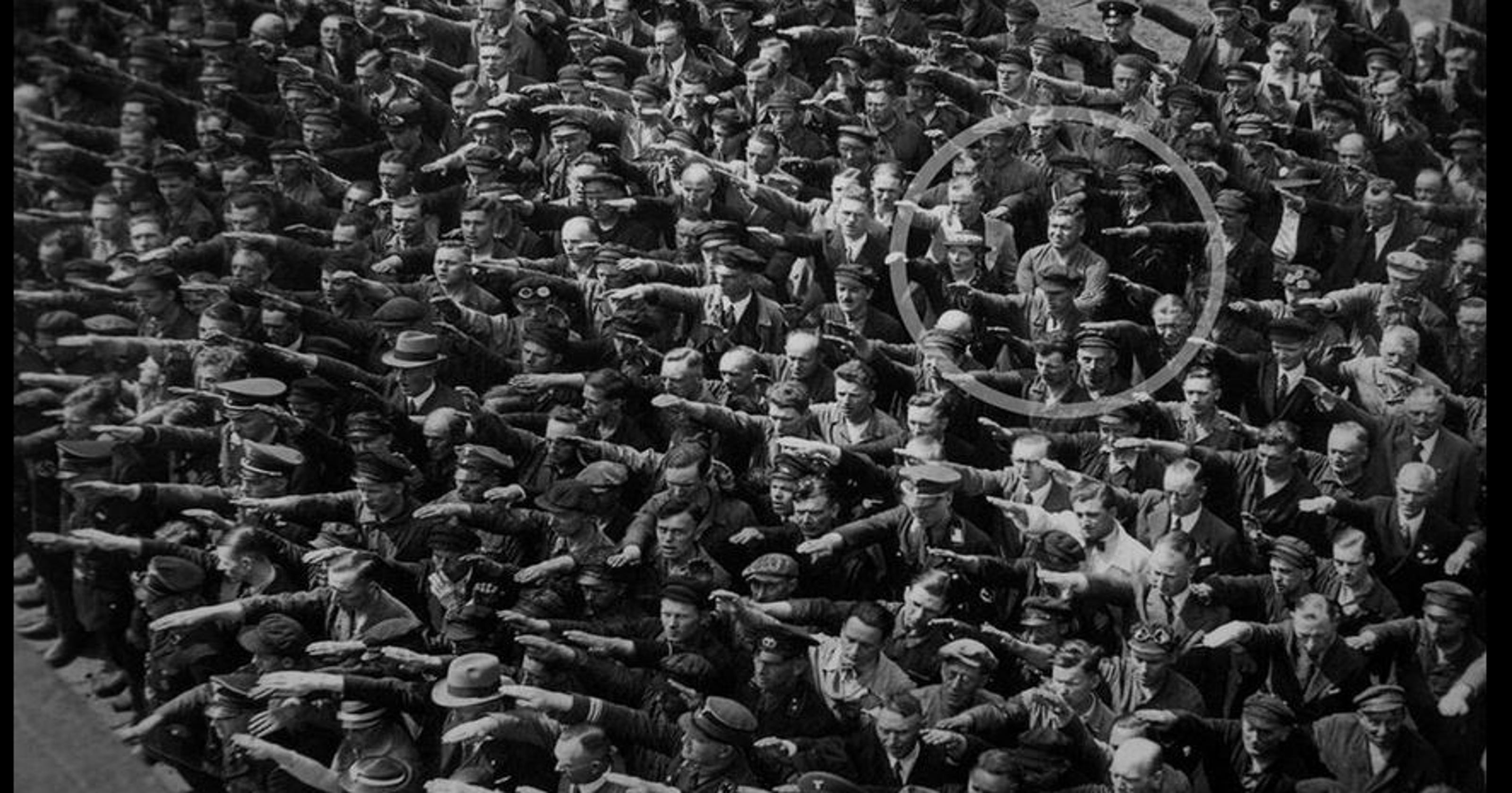 Tragic Tale Of The German Who Wouldnt Salute Hitler