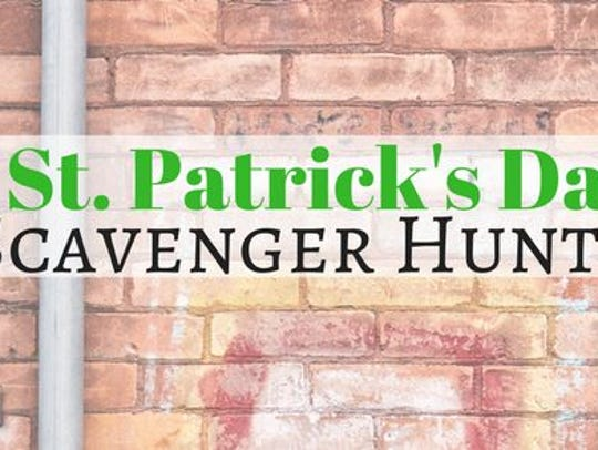 A St. Patrick's Day Scavenger Hunt is taking place