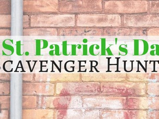 A St. Patrick's Day Scavenger Hunt is taking place this weekend in downtown Marshfield.