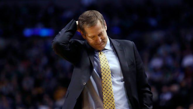 Jeff Hornacek was fired as the Knicks' head coach early Thursday morning.