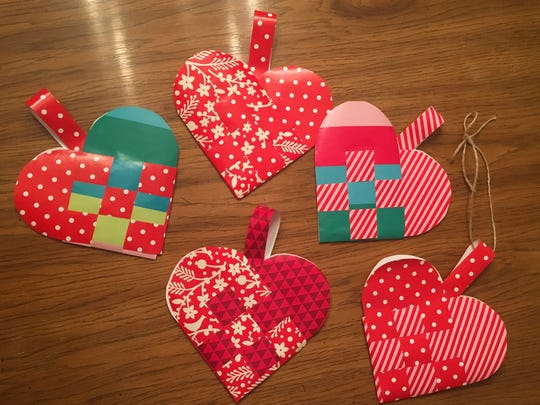 Learn to make Nordic paper hearts at the Philadelphia Home Show from two South Jersey crafters, Inge Lawyer of Haddon Heights and Meg Karetny of Cherry Hill.