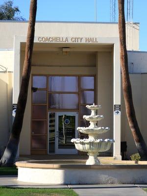 Coachella City Hall at 1515 Sixth Str.