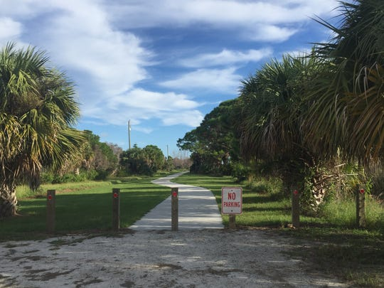 Savannas Recreation Trail is 2.5 miles of paved walkway