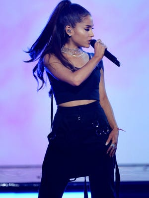 Ariana Grande performs  at the 2016 Billboard Music Awards in Las Vegas. A terrorist attack killed at least 22 people at Grande's concert in Manchester England on May 22.