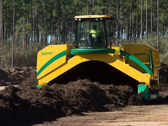 The Emerald Coast Utilities Authority has begun composting