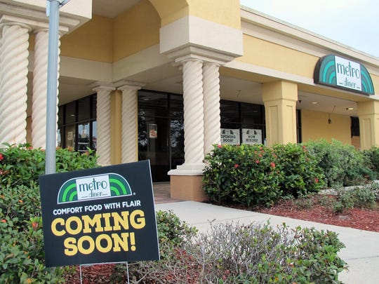 The Jacksonville-based Metro Diner chain is targeted to open a location Jan. 31 in the Naples Walk shopping center on the southeast corner of Airport-Pulling and Vanderbilt Beach roads in North Naples.