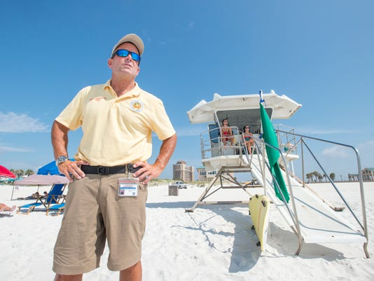 Lifeguard chief Dave Greenwood