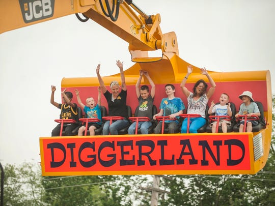 Diggerland USA, the United States' first construction-themed amusement park located in West Berlin.