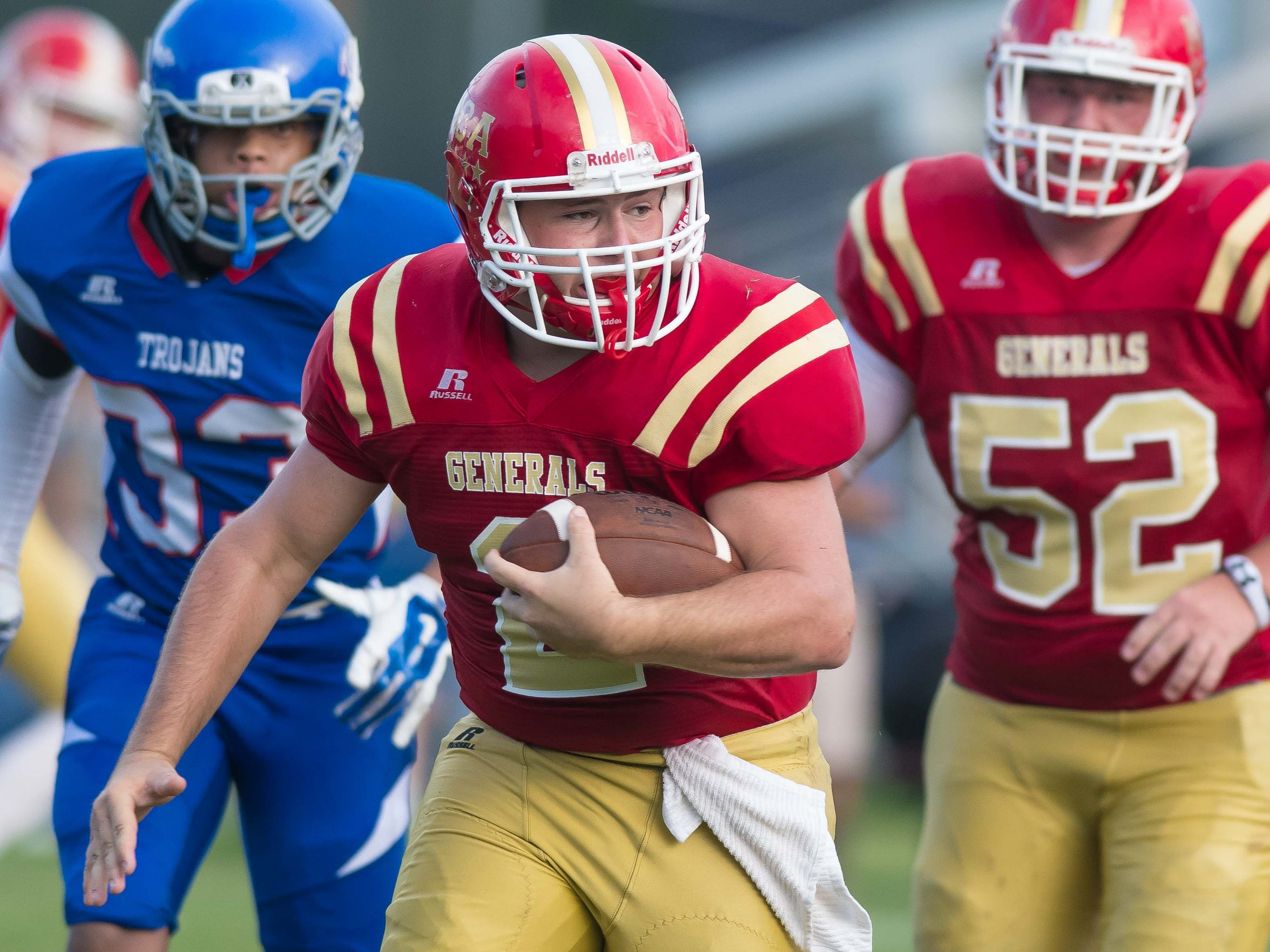 Action from the Tri-County Academy Jamboree held in