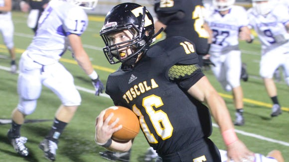 Former Tuscola running back Bryce Myers now plays for North Buncombe.