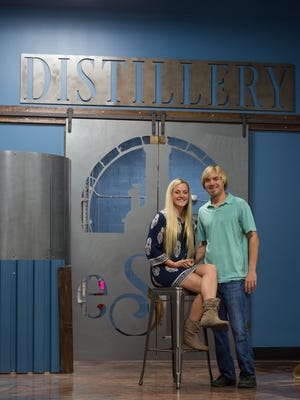 Zack King and Marissa Cordell have been planning and working to open the easySpeak Distillery & Brewpub in Milford for a year now.